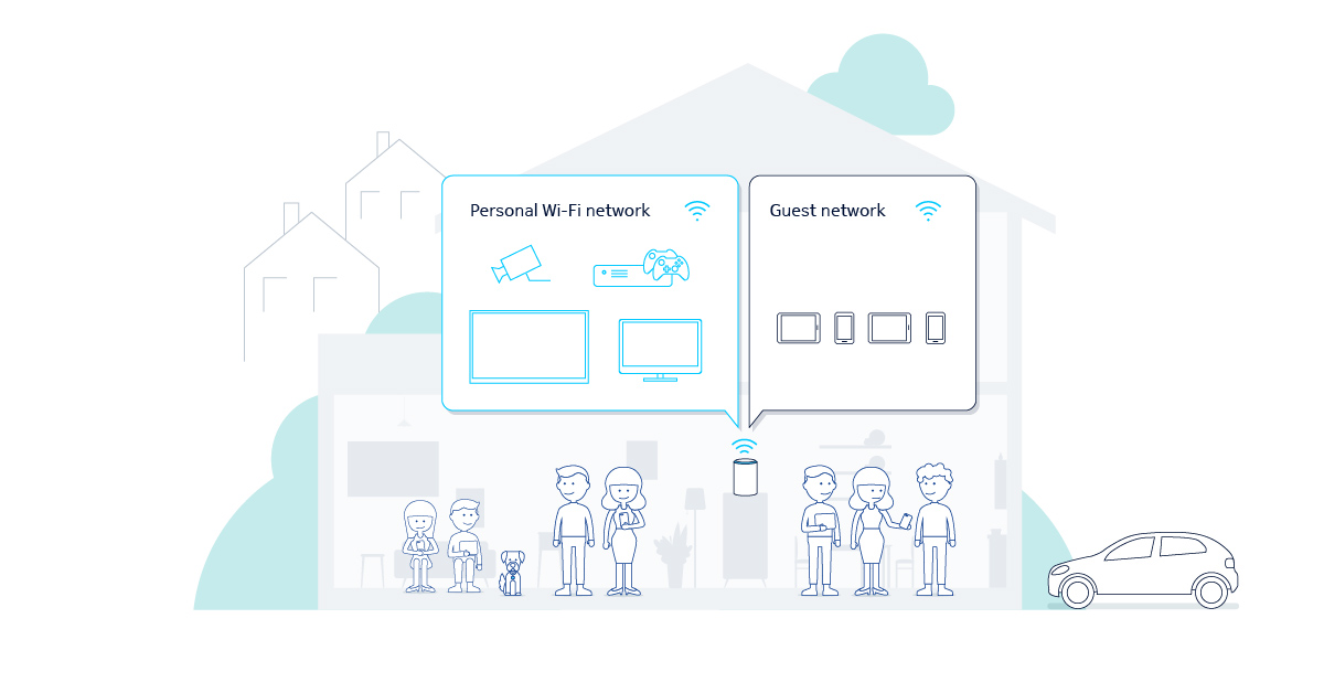 Create a guest network