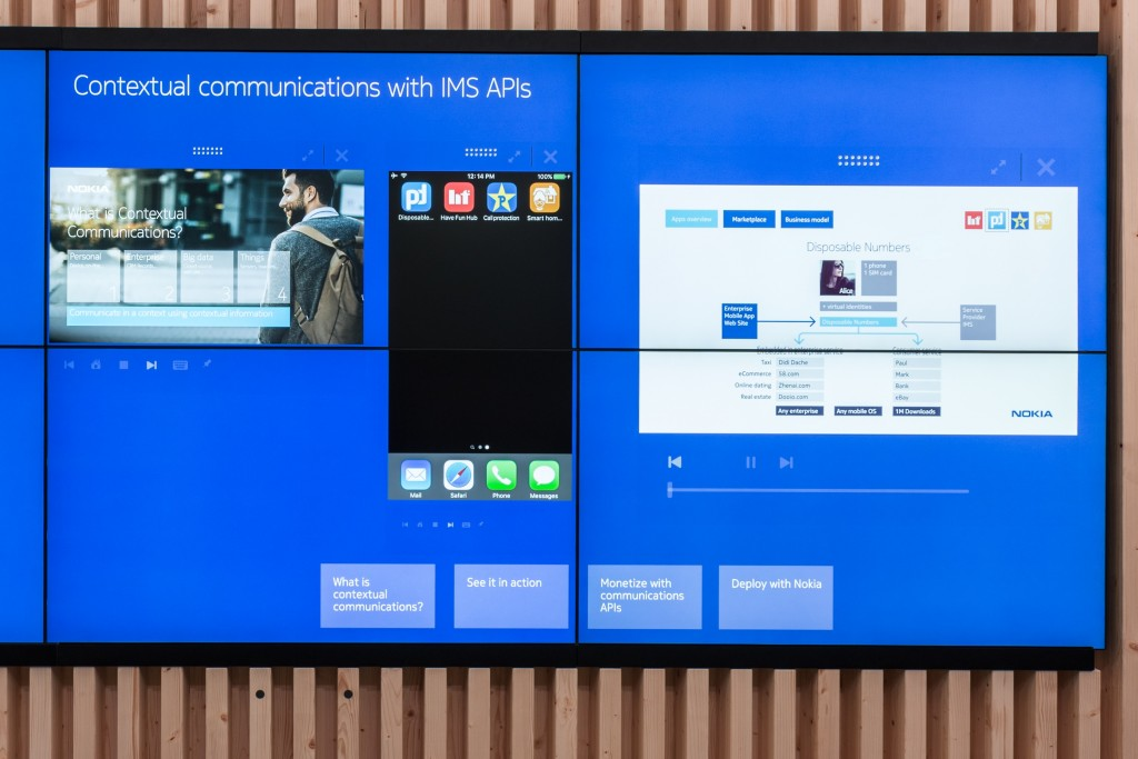 Contextual communications with IMS APIs
