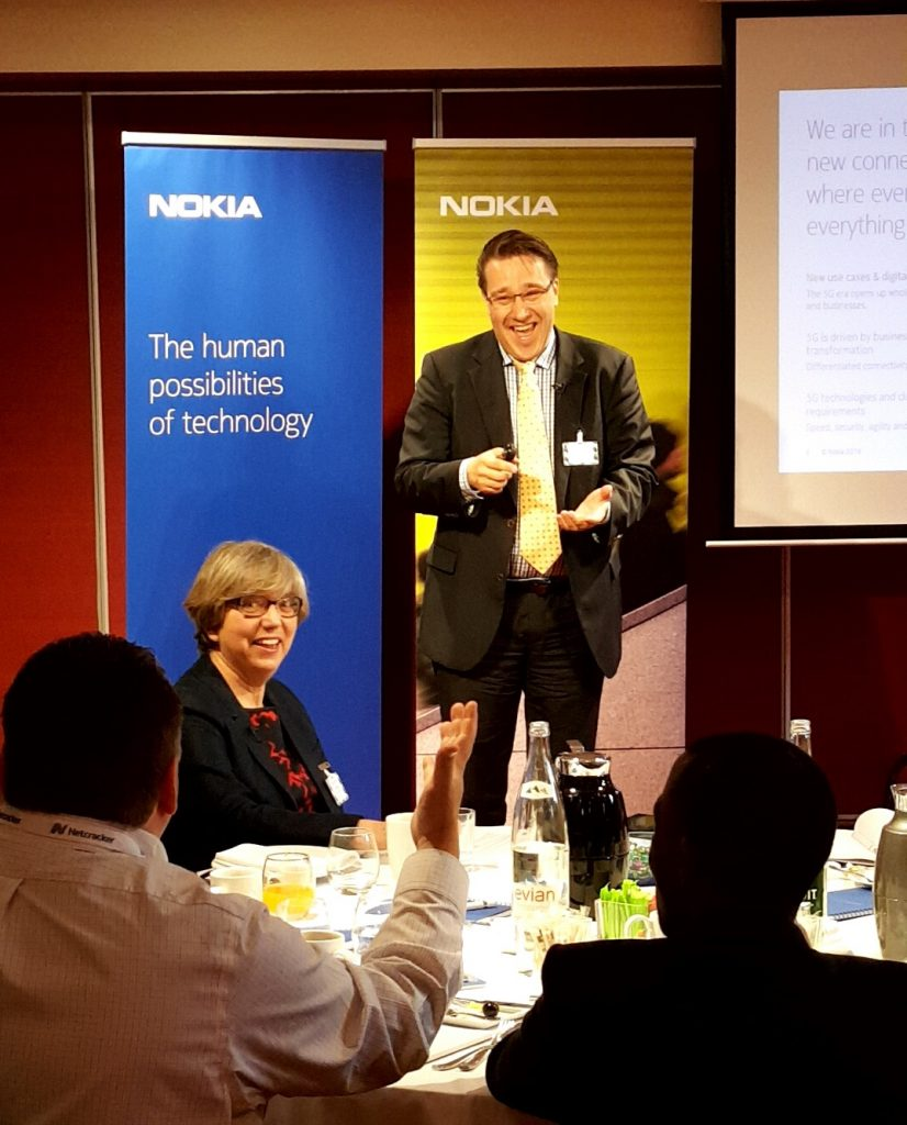 Network automation discussion Nokia Breakfast Nice 2016