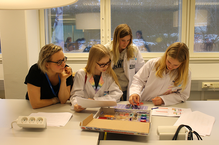 Greenlight for Girls event at the Nokia Campus in Espoo, Finland